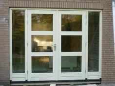 Tuindeuren French Doors, My Dream Home, Windows, Garden, House, Design, Diy, Garten, Home
