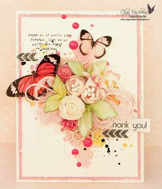 Crafting ideas from Sizzix UK: Bunch of flowers Card