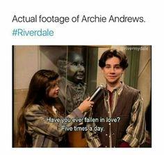 Archie Andrews #Riverdale