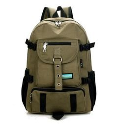 This stylish Canvas Backpack is the best way to keep everything in one  place. There. The Tie Guys 1d36b4b05b55a
