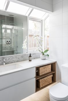 Custom Kitchen Renovations and Designs Bathroom Renovation Gallery Contact Us See Our Recent Projects Bathroom Renos, Bathroom Renovations, Bathroom Ideas, Custom Vanity, Custom Kitchens, Vanity Cabinet, Interiores Design, Double Vanity, Brighton