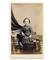 PRETTY-LITTLE-GIRL-plaid-dress-fashion-CDV-PHOTO-1860s-Ravenna-Ohio ~~ PRETTY LITTLE GIRL plaid dress fashion 1860s  Original vintage CDV CARD photo  Ravenna Ohio   Current photo Auctions are here More Buy-It-Now photos are here   approx 2.5 x 4.0 inches