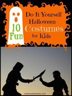 10 Amazing Do-It-Yourself Halloween Costumes for Kids | My Kids' Adventures