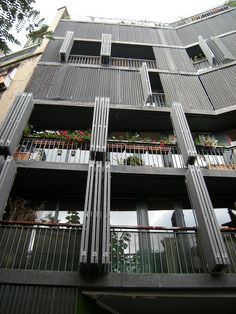 Rue des Suisses Apartment Buildings   Paris, France_Herzog & De Meuron