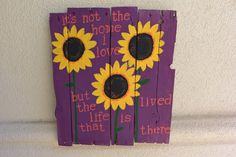 Handmade Distressed Wood Plank Sign It's Not The Home by sondering, $40.00