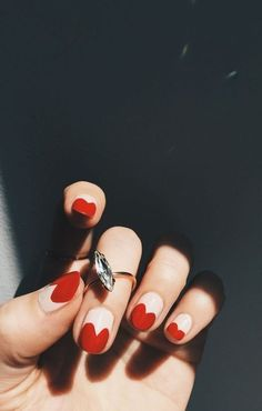 Valentine's Day Nails - Valentine's Day Nails - Photos