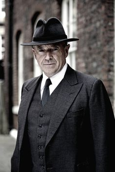 Michael Kitchen plays Christopher Foyle, an impossible-to-not-love detective, in Foyle's War.