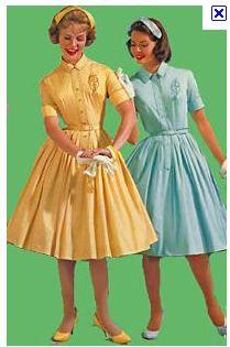 Full Skirted Shirtwaist