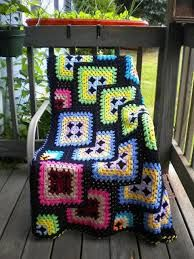 granny square afghan - Google Search