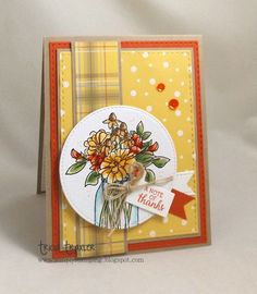 : Taylored Thanks Mason Jar Cards, Simply Stamps, Stampin Up Catalog, Fall Cards, Halloween Cards, Flower Cards, Greeting Cards Handmade, Homemade Cards, Stampin Up Cards