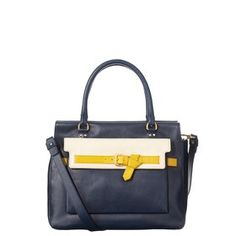 Belted Leather Ella Bag Ink by Orla Keily
