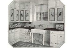 Historical Kitchens « 1912 Bungalow ~ Ever wonder what your historic bungalow kitchen used to look like? Some examples from the early 1910s to the late 1920s.
