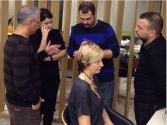 Eğitimlerimiz başladı! #handehaluk #kuafor #saloon #hairdresser #hairstylist #coiffeur #zorlu #zorlucenter #zorlucenteravm
