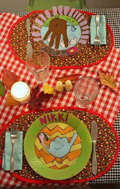'Free Birds' turkey themed DIY at WhiMSy love @penny shima glanz shima glanz Douglas Birds Movie