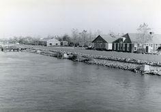 Oostelijk Flevoland: Lelystad-Haven.   Bron: Fotocollectie Nieuw Land, Dienst der Zuiderzeewerken.