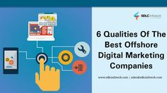 Know the 6 qualities of the best offshore digital marketing companies  #offshoredigitalmarketingcompanies #bestdigitalmarketingagencyinindia #digitalmarketingagenciesinindia #offshoredigitalmarketingagenciesinindia #sdlcinfotech Marketing Topics, Marketing Companies, Online Marketing Services, Best Digital Marketing Company, Digital Marketing Strategy, Content Marketing, Media Marketing, Effective Communication Skills, Reputation Management