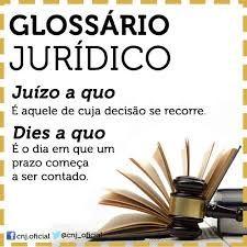 Resultado de imagem para glossário jurídico