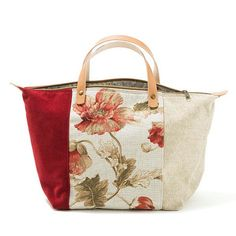 Browse unique items from AWAYOFLIFEhandmade on Etsy, a global marketplace of handmade, vintage and creative goods. Handmade Purses, Handmade Handbags, Sacs Tote Bags, Denim Bag, Fabric Bags, Cotton Bag, Beautiful Bags, Leather Handle, Handbag Accessories