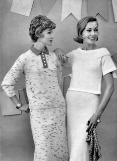 Spinnerin Quick-to-Knit Fashions 1959