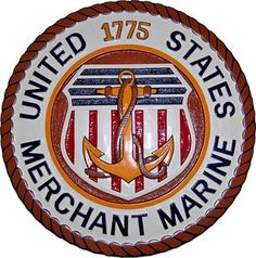 US Merchant Marine Seal Plaque