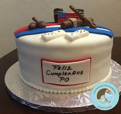 Cuban Fondant Cake