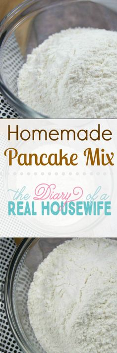 Homemade pancake pix. We love this breakfast recipe! I keep this homemade pancake mix on hand at all times.