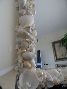 Amazing Shell Mirror wall beach decor by BytheShoreDecor on Etsy, $599.00