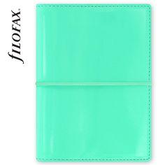 Filofax 2016 Domino Patent Turquoise Pocket