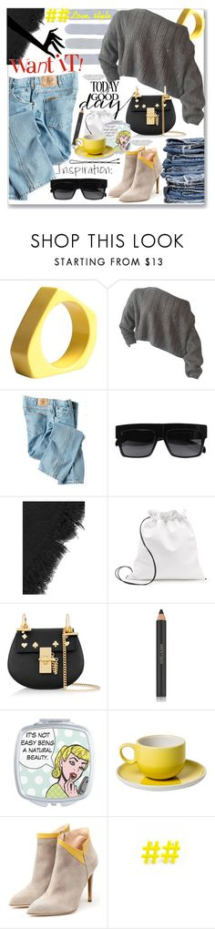 """Love, style"" by lillili25 ❤ liked on Polyvore featuring Marni, Dickies, Therapy, CÉLINE, Whistles, Chloé, Estée Lauder, MANGO, Rupert Sanderson and Emi Jewellery"
