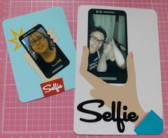 printable Selfie cards for Project Life