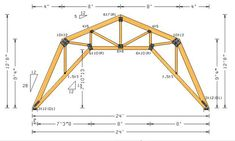 1000 Images About House Truss Styles On Pinterest Roof