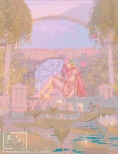 ArtStation - aphrodite, IRISLI0224 Aphrodite Aesthetic, Greek Mythology Art, Hades And Persephone, Lore Olympus, Fantasy Women, Gods And Goddesses, Character Drawing, Homestuck, Deities