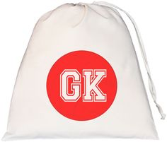 Netball Goal Keeper Large Drawstring Bag