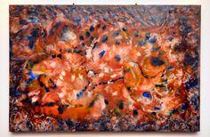 Dana Haidau - The queen`s song, encaustic painting, Encaustic Painting, Beautiful World, Abstract Art, Queen