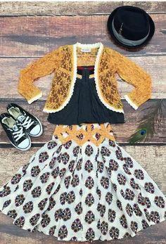 2015 Fall Jak & Peppar Coronado Skirt Preorder