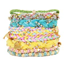 Pastel Bracelet Stack
