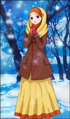 53 Best Muslim Anime Images Drawings Anime Muslimah Hijab Cartoon