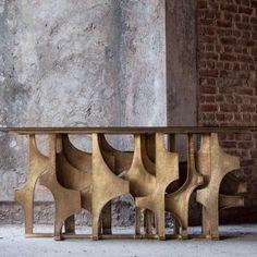 Viya — Consoles Table Furniture, Rustic Furniture, Furniture Sets, Modern Furniture, Home Furniture, Furniture Design, Modern Entry, Home Design, Interior Design