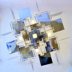 Mirrored Sciolari Chandelier