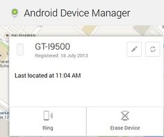 tracking a stolen android tablet