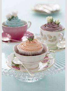 Cupcakes for Tea.