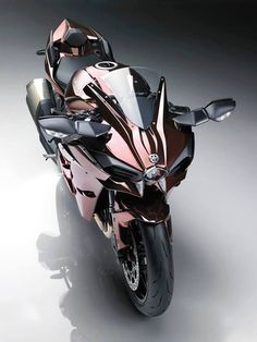 """Bright, and released the 2016 model of the Kawasaki """"Ninja - Luxury Motorcycle! Triumph Motorcycles, Cool Motorcycles, Moto Bike, Motorcycle Bike, Motorcycle Quotes, Ducati, Custom Sport Bikes, Futuristic Motorcycle, Kawasaki Motorcycles"""