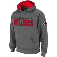 First purchase as a Dawg...Georgia Bulldogs Pullover Hoodie - Charcoal