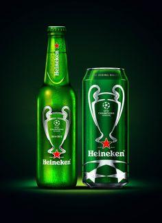 Heineken UEFA Champions League Beer