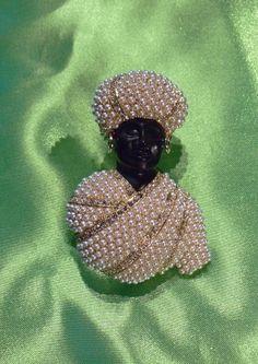 Blackamoor with Pearls