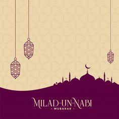 Milad-un-nabi mubarak festival background Free Vector Islamic Background Vector, Ramadan Background, Festival Background, Milad Un Nabi, Invitation Background, Logo Background, Muslim Wedding Invitations, Ramadan Poster, Flyer And Poster Design