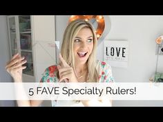My 5 Favorite Specialty Quilting Rulers - YouTube