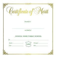 Merit Certificate Sample 12 Service Certificate Templates  Free Word & Pdf  Office Work .