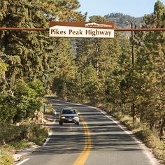 Pikes Peak Highway - Drive to the Summit  ~ 15 minutes from Woodland Park http:www.vrbo.com/320249
