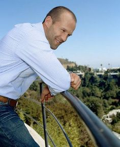 Jason Statham, my prince. Wonder has he ever farted? I mean he's too perfect to be a normal human being